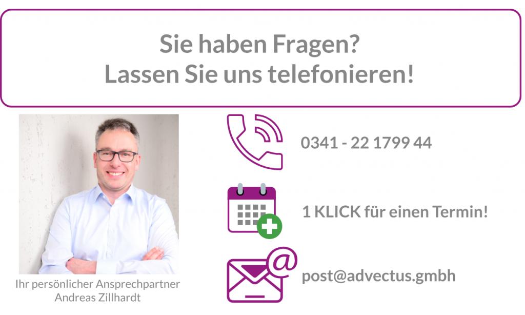 advectus GmbH Telefonat vereinbaren